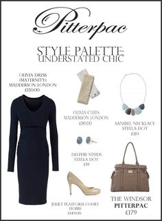 The Windsor Changing Bag, with Madderson London Olivia dress, cuffs & Stella and Dot Jewellery.