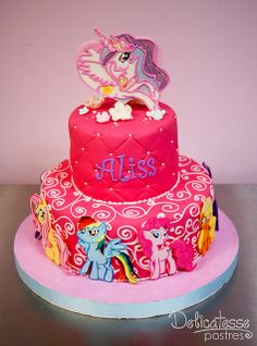 My Little Pony Cake... want, want, want, want, NEED!