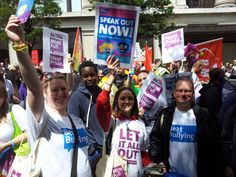 #Speakoutnow at #PrideinLondon2014