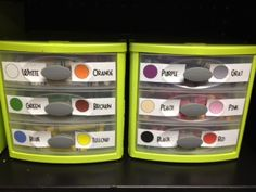 """This is part of an entire classroom supply organization system that cuts to the chase so to speak. No distractions, no fighting over colors, no """"stealing,"""" no time wasted. Love it."""