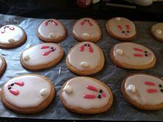 Bunny sugar cookies