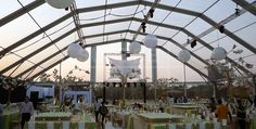 Large Polygon Tent for big party event [XLS series] - Polygon Tent - Superb Tent Manufacturer