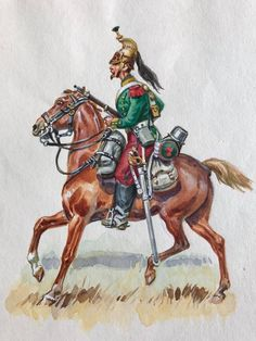 French, 7th Dragoons, 2nd Empire by Eugène Leliepvre