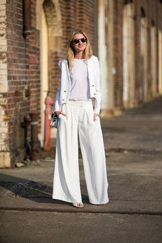 Como usar los pantalones blancos #WhitePants