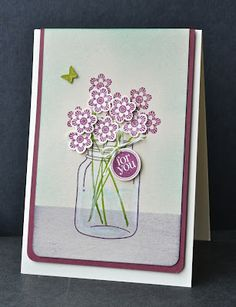 Stampin' Up ideas and supplies from Vicky at Crafting Clare's Paper Moments: Perfectly Preserved birthday