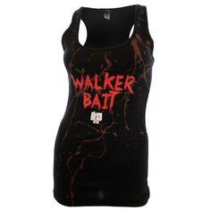 Walker Bait Tank Top Bait Tank, Walking Dead, Tank Tops, Women, Fashion, Halter Tops, Moda, Women's, La Mode