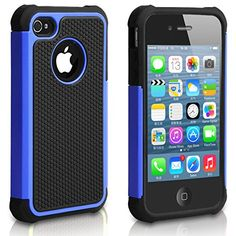 Pasonomi iPhone 4 Case-Premium Heavy Duty Hybrid Shockproof Water Dust Resistant Armor Cover for Apple iPhone 4S/4 (Blue) PASONOMI http://www.amazon.com/dp/B00MXNPUF2/ref=cm_sw_r_pi_dp_TBI0ub1PEH7QV