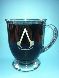 Assassins creed coffee mug!!
