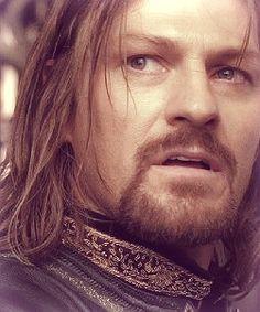 Boromir. it was so heartbreaking watching him die. I loved Boromir