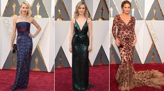 Oscars red carpet fashion trends and hits and misses | abc7.com
