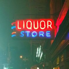 Liquor neon