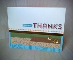 Gold Washi Tape, Thanksgiving Cards, Simon Says Stamp, Close To My Heart, Card Kit, Thank You Cards, Decorative Boxes, Card Making, Challenge
