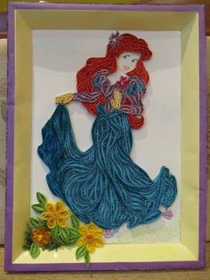 Quilling Cartoon, Quilling Cards, Disney Quilling, Cartoon Characters ...