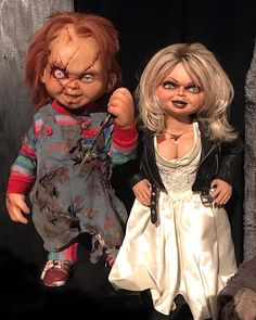 "Monsterpalooza on Instagram: ""Chucky & Tiffany were spotted in the Monsterpalooza Museum courtesy of artist Kevin Yagher (@yagherfx)! • Mark you calendars! Son of…"""