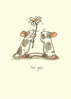 M22 FOR YOU - A Two Bad Mice card by Anita Jeram