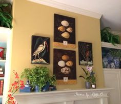 Mantle Decor | Home by KelleB