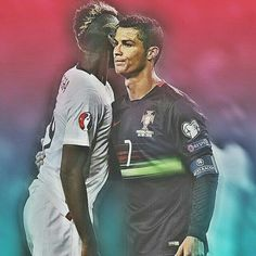 Pogba and Ronaldo ⚽ #pogba #messi #football #juve #bianconeri #بوغبا #neymar #finoallafine #bale #zlatan #realmadrid #يوفنتوس #juventus #sanchez #ماركيزيو  #cristiano #halamadrid #cristianoronaldo #realmadrid #cr7 #football #madrid #ronaldo #love #bale #portugal #ikercasillas #real #follow4follow #instagram