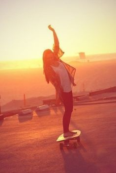 Be better and longboarding :) then go by the ocean