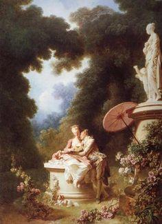 jean honore Fragonard La confesion amorosa