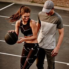 Sports luxe done right! When you look your best you feel perform your best || Cotton On || COAR || 2016 || Women's and Men's Activewear