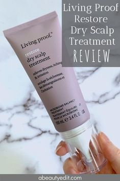 Hyaluronic Acid For Your Hair: Living Proof Restore Dry Scalp Treatment