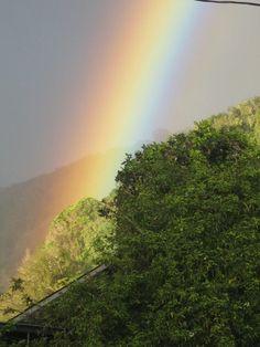 Piece of a rainbow, Boquete, Panama (Photo by Roamingjodi)
