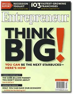 entrepreneur quotes | Free one-year subscription to Entrepreneur magazine | Money Saving Mom ... http://www.janetcampbell.ca/
