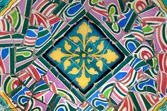 Mosaic, Gaudi, Barcelona