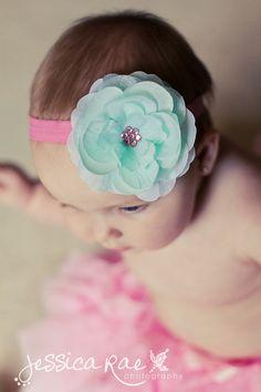 Baby HeadbandsBaby Girl by SummersInspirations on Etsy, $11.95