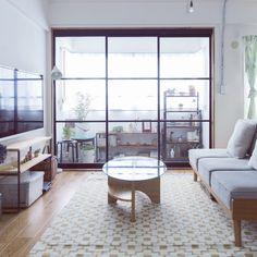 リビング/ニトリ/北欧/シンプル/北欧インテリア/インナーテラス...などのインテリア実例 - 2016-03-05 20:13:58 | RoomClip(ルームクリップ) Decor, Beautiful Design, Decor Design, Room Divider, Furniture, Interior Design, Home Decor, Room, Deco