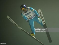 Akira Higashi of Japan in action during the FIS World Cup official training and qualification on November 24 2005 in Kuusamo Finland