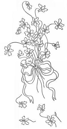 Reading Eagle, 1915 Spray of Violets