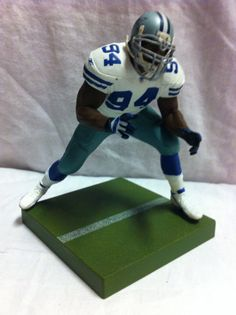 Mcfarlane NFL Series 18 Demarcus Ware Dallas Cowboys Loose Figure