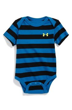Under Armour HeatGear® Bodysuit (Baby Boys) available at #Nordstrom