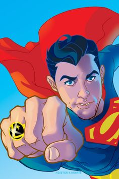 Superman by Tony Harris and Tom Feister