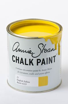 <p>An English colour from the development of Chrome Yellow pigment in the 18th Century and inspired by hand painted Chinese wallpaper. This was the first non-earthy yellow. It's also a great fifties vintage colour.</p> <p>Available in 100ml small project pots and 1 litre tins.</p>