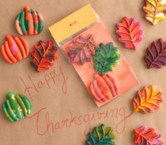 12 Thanksgiving and Christmas Crafts for Kids : Real Simple : Photos: Nicole Gerulat