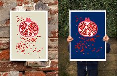 anek has a variety of nice prints for your walls  by Miss Moss