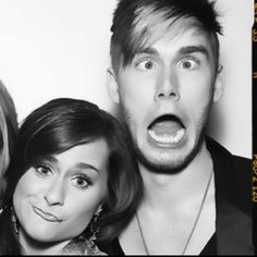 Colton Dixon and Skylar Laine. This picture just makes my day.