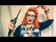 FreyaVintage Does Hair: Vintage Pinup waves on shorter hair