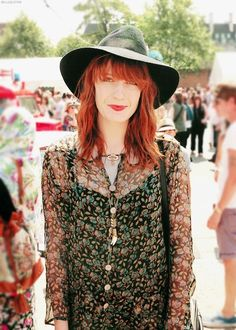 Florence Welsh (B) (1986), English musician, singer and songwriter who rose to fame as the lead singer of Florence + the Machine, an English indie rock band.
