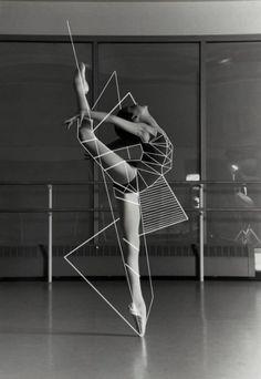 Gheyber Gutierrez on Talenthouse / Sacred Geometry Geometric Inspiration Mode Collage, Kreative Portraits, The Dancer, Photoshop, Illustration Mode, Illustrations, Art Graphique, Dance Photography, Outline Photography