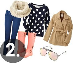 CUTE especially for a wintery weather day shopping