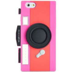 kate spade new york Silicone Shutterbug Camera iPhone 6 Case (51 AUD) ❤ liked on Polyvore featuring accessories, tech accessories and kate spade