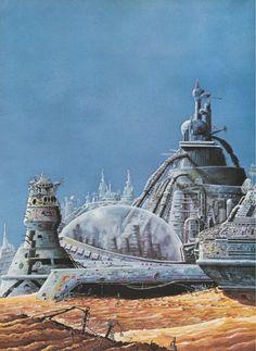 Sci fi architecture Bob Layzell