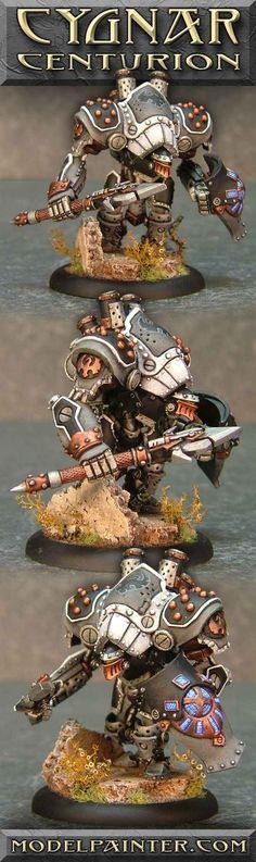 Cygnar Centurion