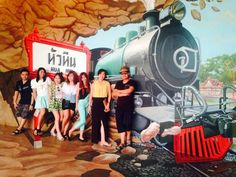พิพิธภัณฑ์ภาพ 4 มิติ  ฝีมือศิลปินชาวไทย For Art's Sake ที่เที่ยวใหม่ของหัวหิน  มาคนเดียวก็เที่ยวได้  มาหลาย ๆ คนยิ่งสนุกค่ะ ^_^  ขอขอบคุณภาพสวย ๆ จากคุณ Winning Winner ด้วยนะคะ  New Hua Hin Attraction. For Art's Sake 4D Art Museum  welcome all kind of travelers, couple, friends, family or only yourself  no problem with taking a cool photo because we can do it for you by our lovely officer :)