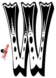 GIFS DE ABECEDARIOS Y LETRAS: Abecedarios de circo