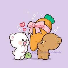milky and mocha cartoon - milky and mocha bear _ milky and mocha _ milky and mocha gif _ milky and mocha bear wallpaper _ milky and mocha bear gif _ milky and mocha cartoon _ milky and mocha wallpaper Cute Couple Cartoon, Cute Love Cartoons, Cute Bear Drawings, Kawaii Drawings, Chibi Cat, Cute Chibi, Mocha, Cute Love Stories, Cute Love Gif