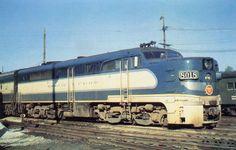 Missouri Pacific Alco PA1 Diesel Locomotive.